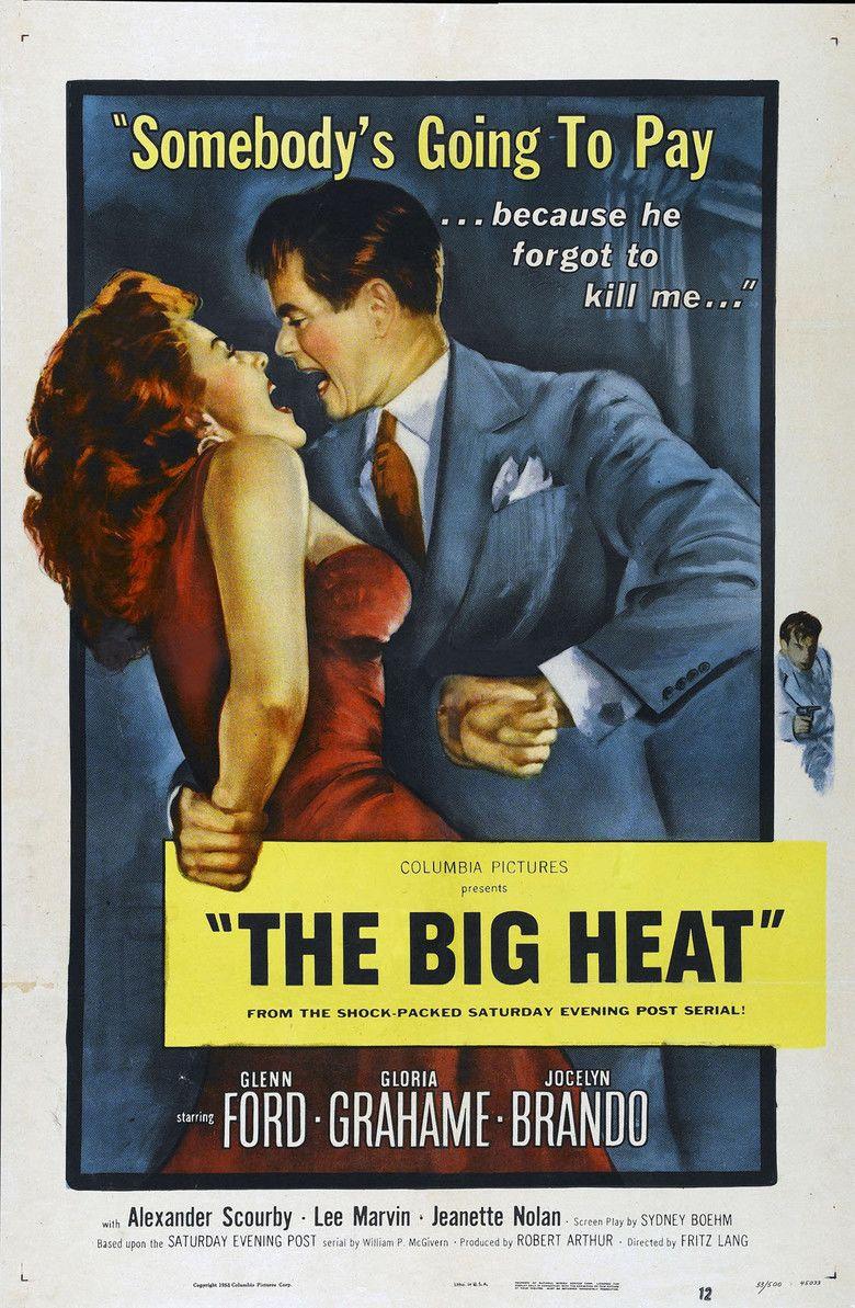 The Big Heat movie poster