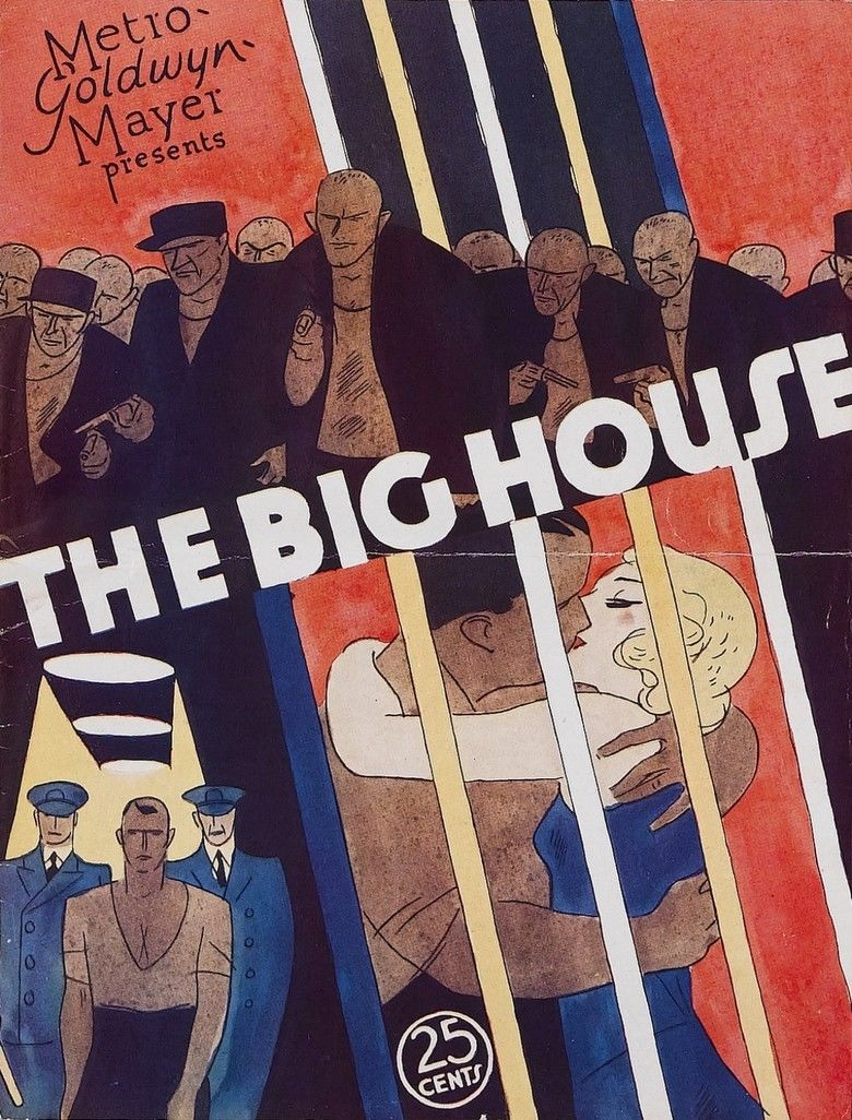 The Big House (1930 film) movie poster