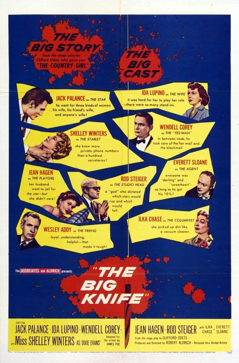 The Big Knife movie poster