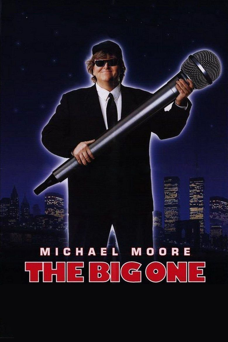 The Big One (film) movie poster