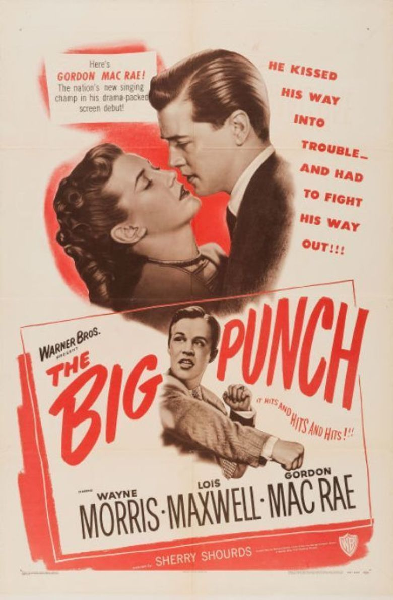 The Big Punch (1948 film) movie poster