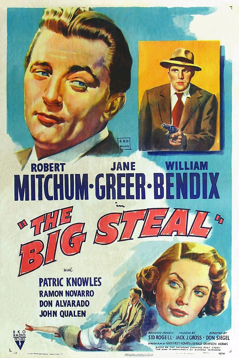 The Big Steal movie poster