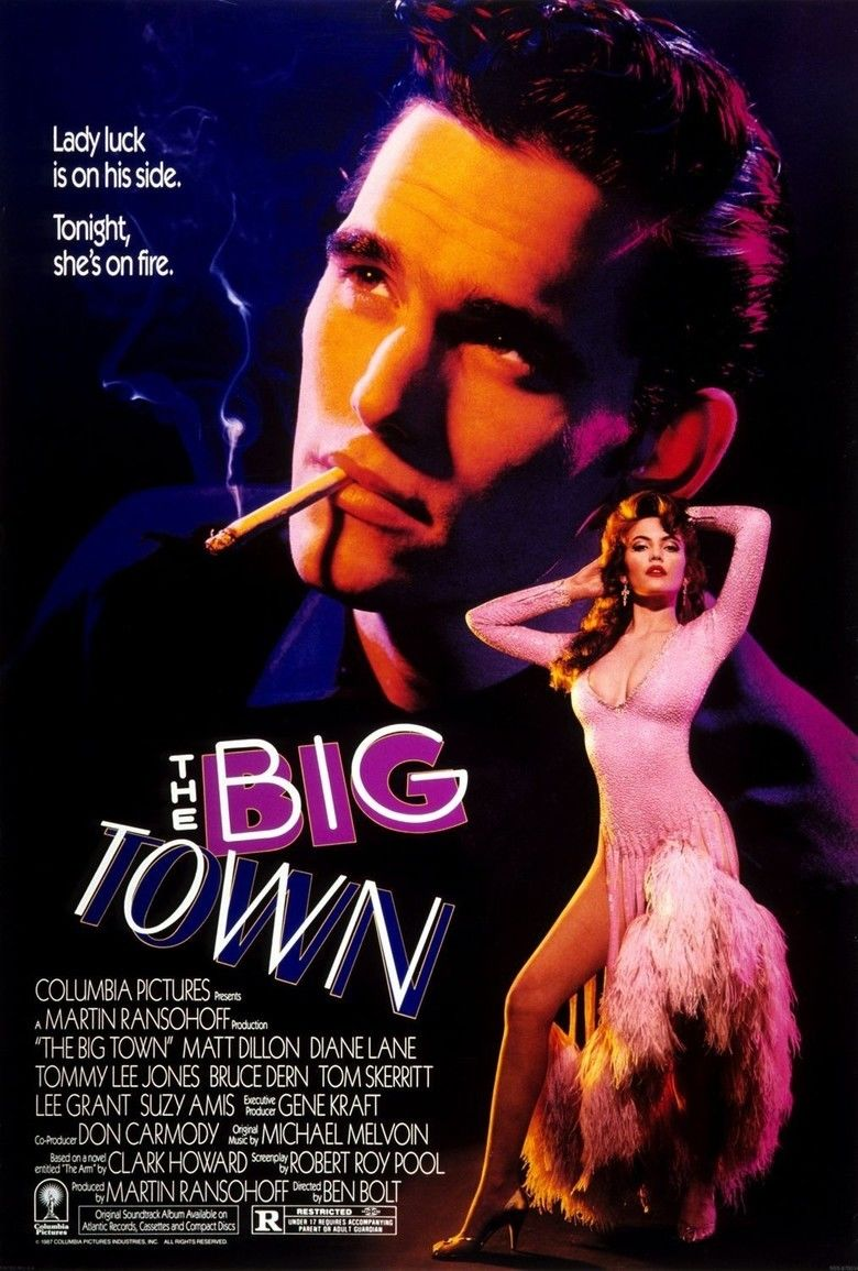 The Big Town (1987 film) movie poster