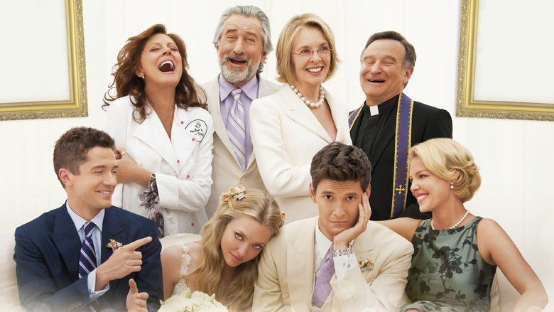 The Big Wedding movie scenes