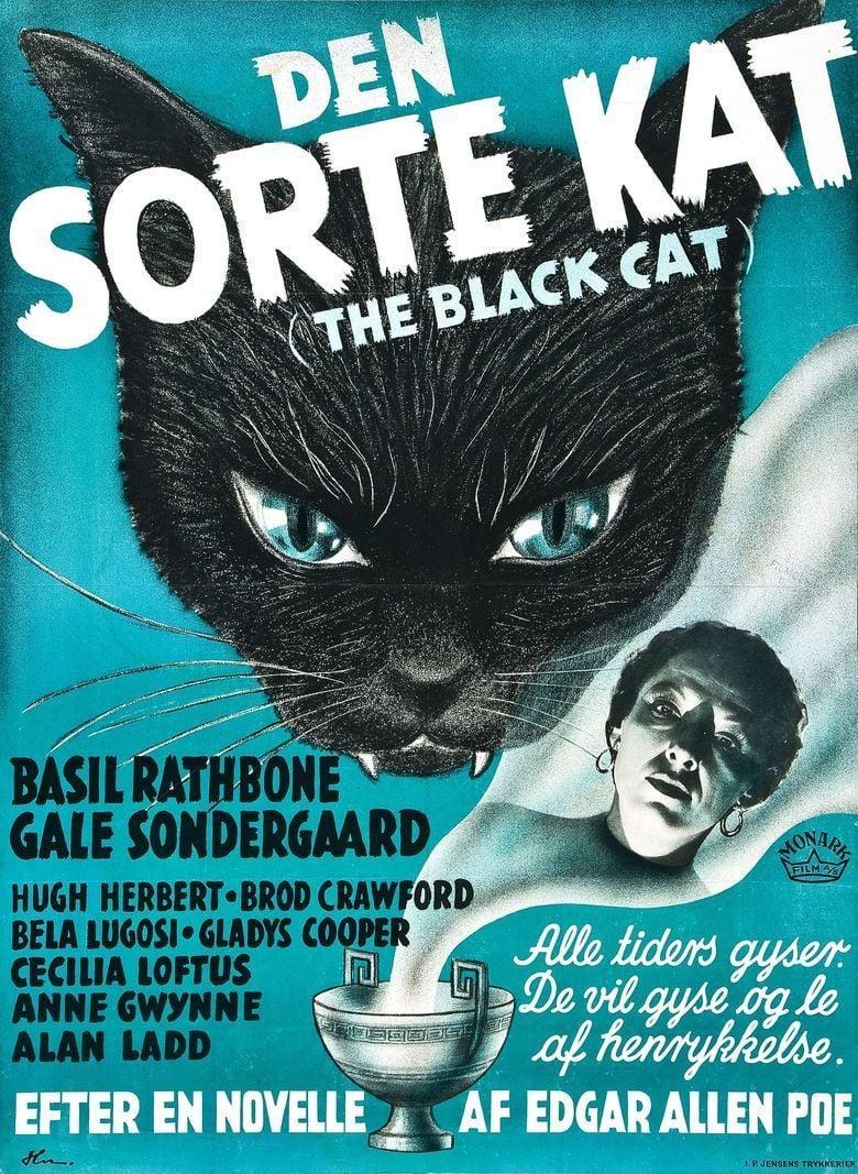 The Black Cat (1941 film) movie poster