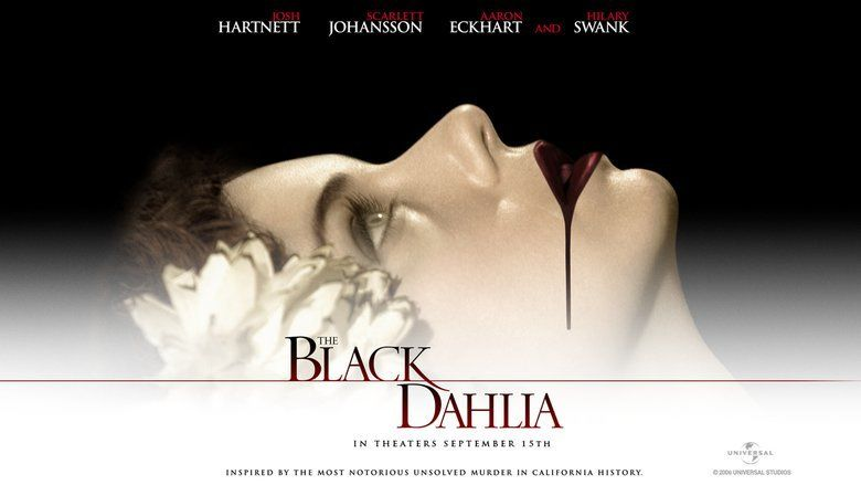 The Black Dahlia (film) movie scenes
