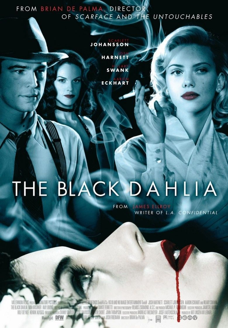 The Black Dahlia (film) movie poster