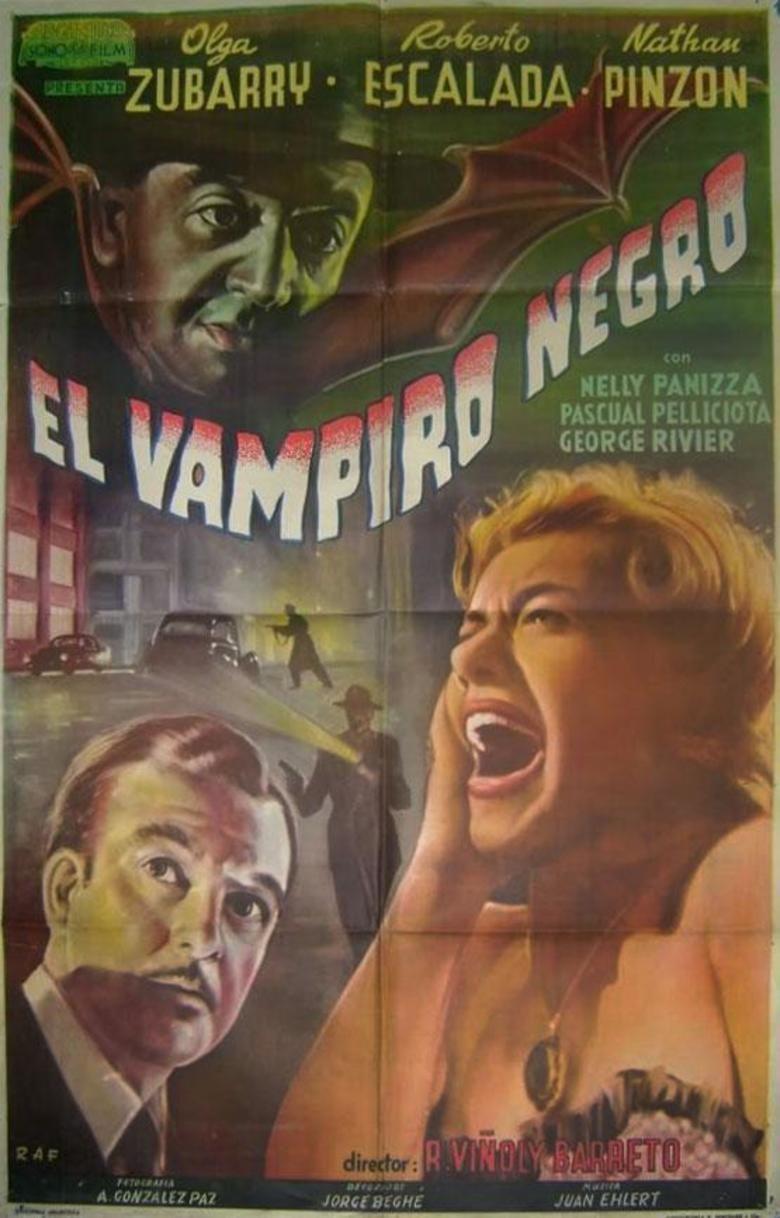 The Black Vampire movie poster