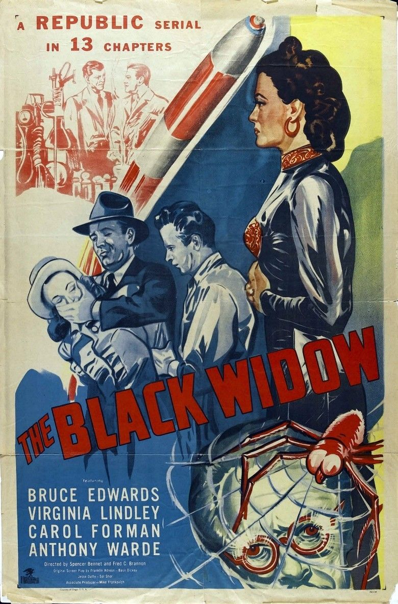 The Black Widow (serial) movie poster