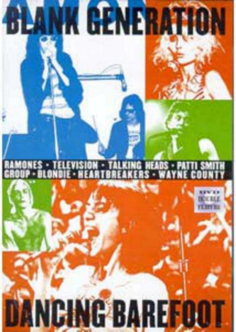 The Blank Generation movie poster