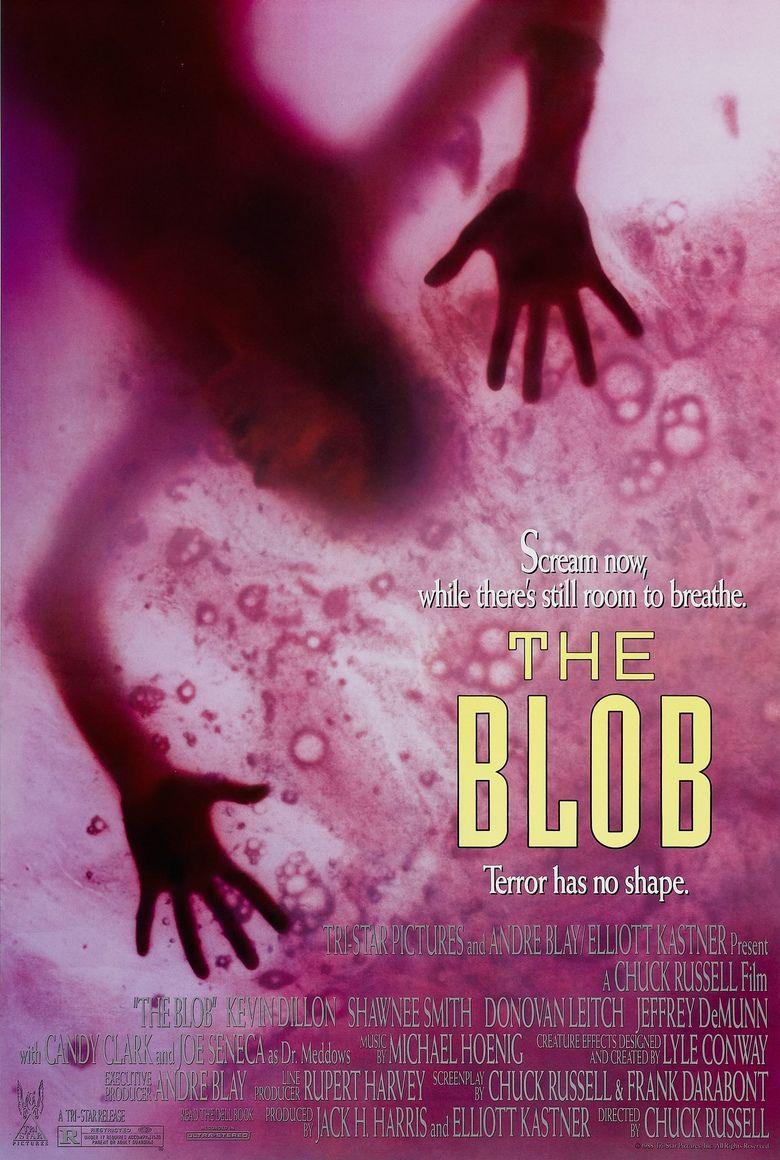 The Blob (1988 film) movie poster