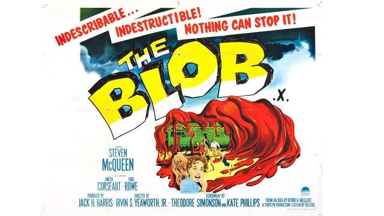The Blob movie scenes