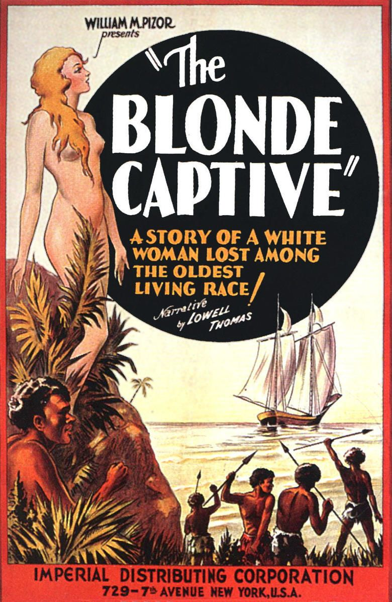 The Blonde Captive movie poster