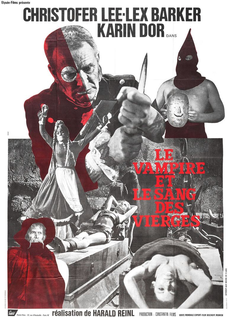 The Blood Demon movie poster