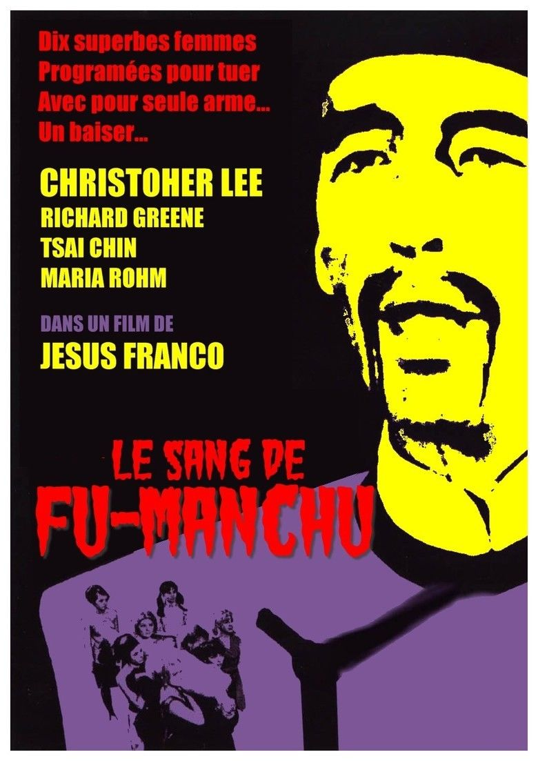 The Blood of Fu Manchu movie poster
