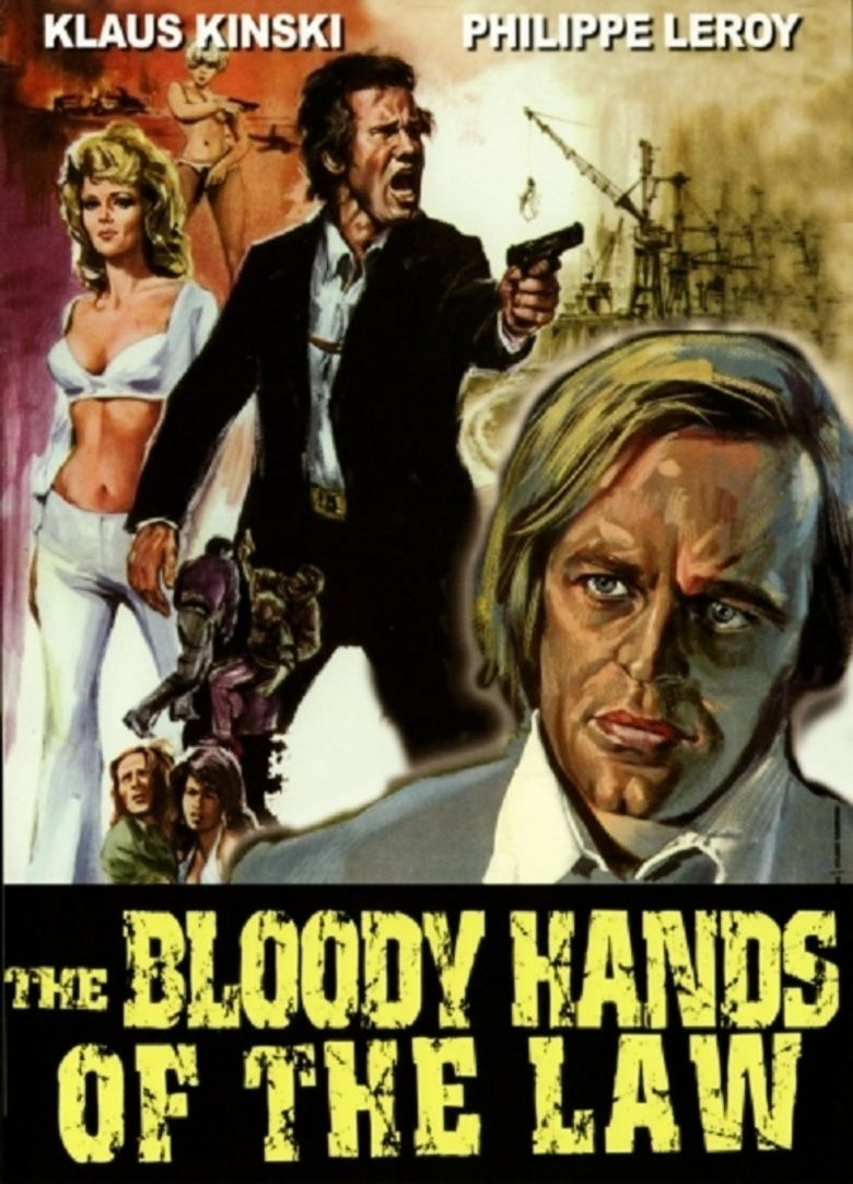 The Bloody Hands of the Law movie poster