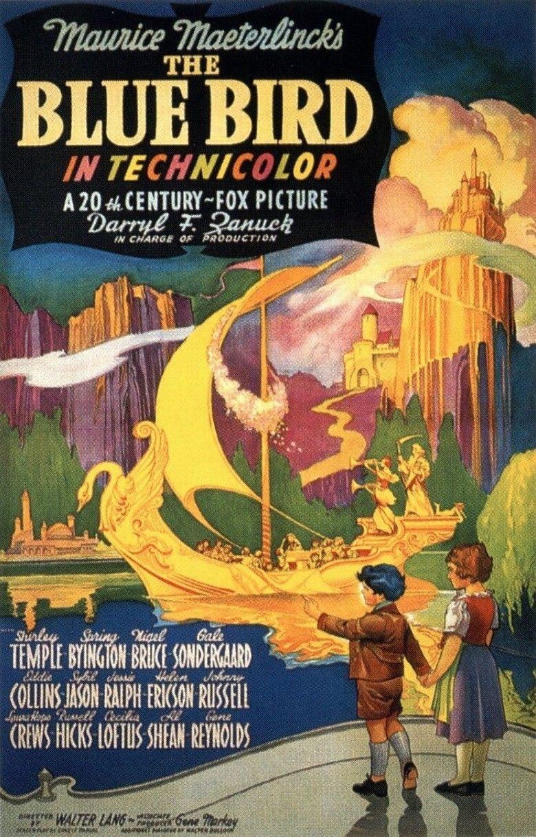 The Blue Bird (1940 film) movie poster