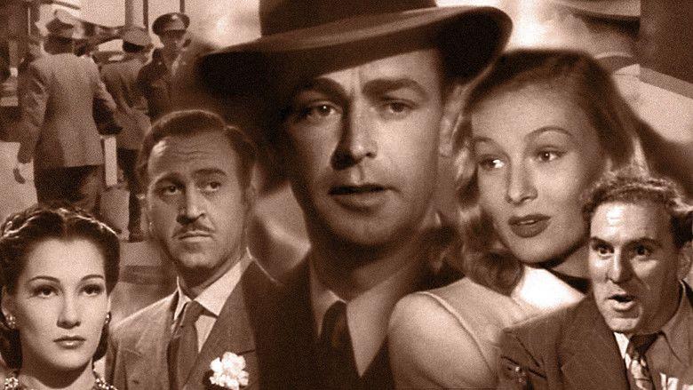 The Blue Dahlia movie scenes