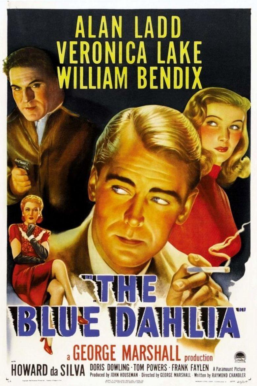 The Blue Dahlia movie poster