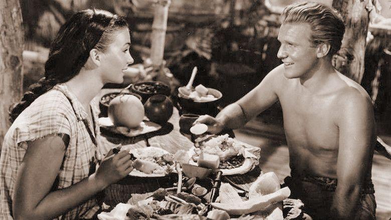 The Blue Lagoon (1949 film) movie scenes