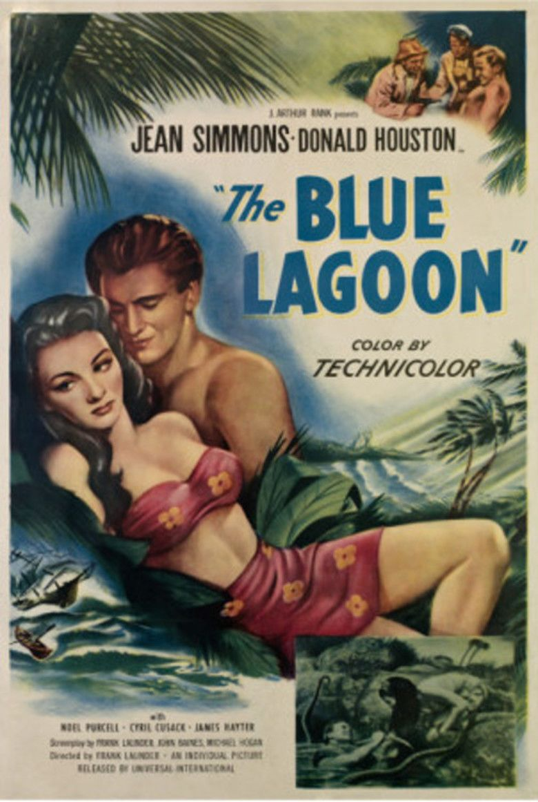 The Blue Lagoon (1949 film) movie poster