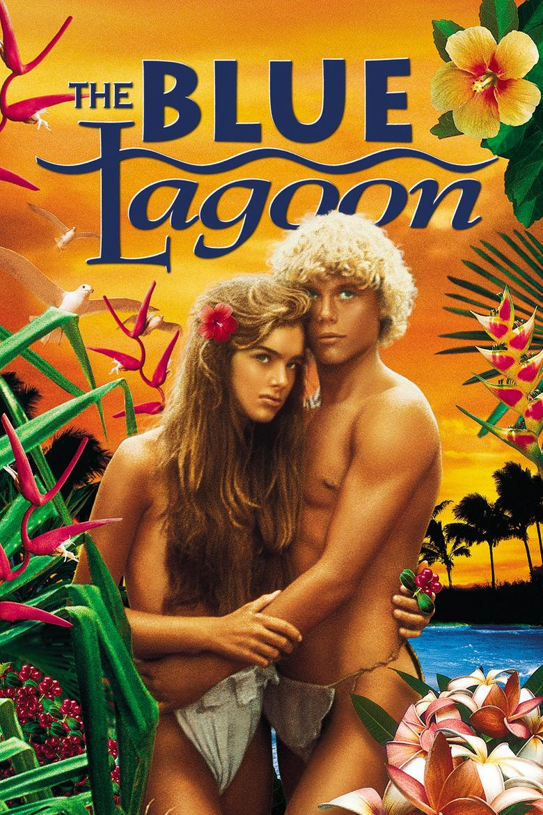 The Blue Lagoon (1980 film) movie poster