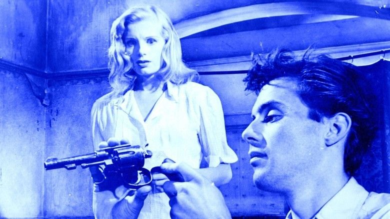 The Blue Lamp movie scenes