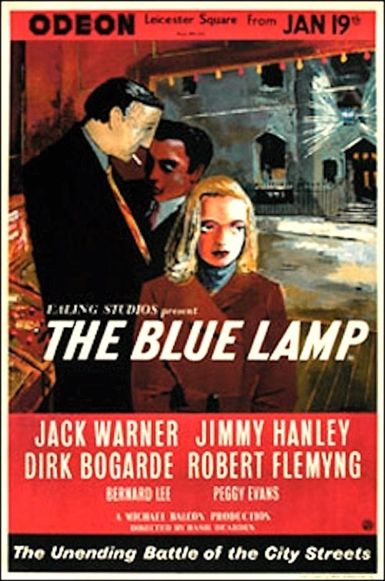 The Blue Lamp movie poster
