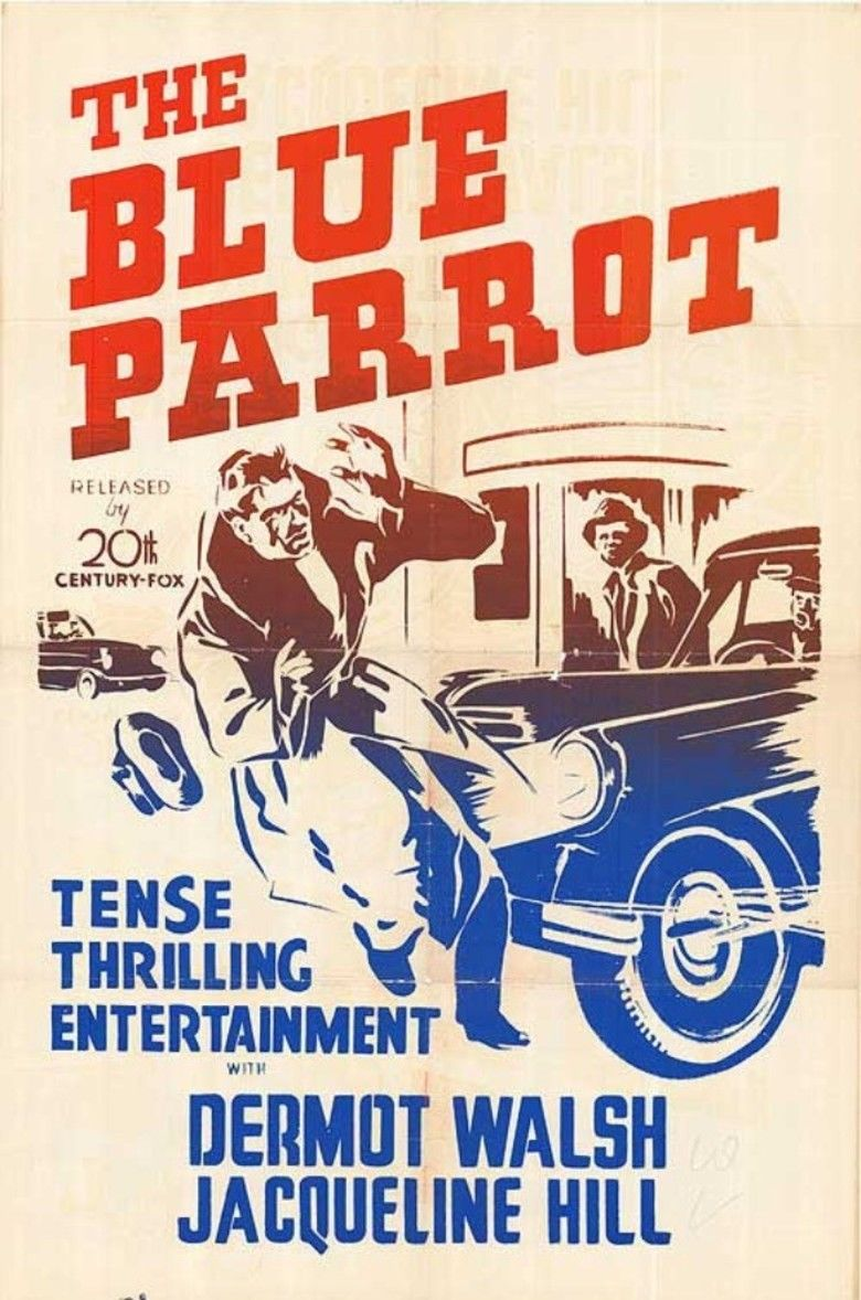 The Blue Parrot movie poster