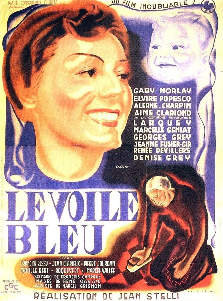The Blue Veil (1942 film) movie poster