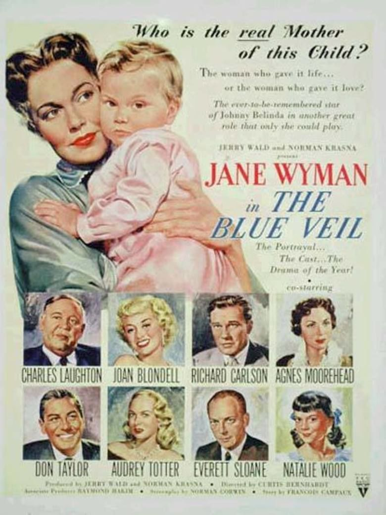 The Blue Veil (1951 film) movie poster