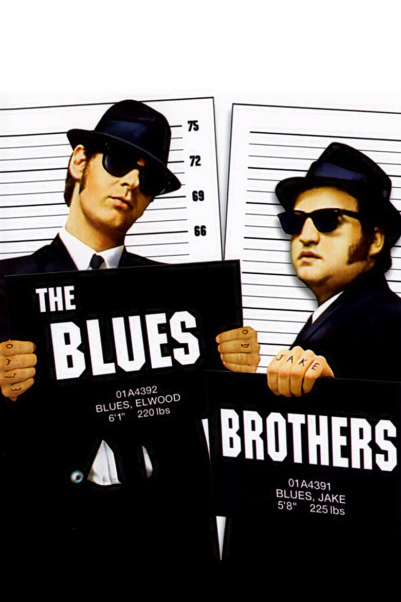 The Blues Brothers (film) movie poster