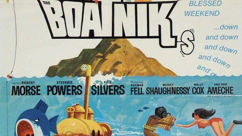 The Boatniks movie scenes
