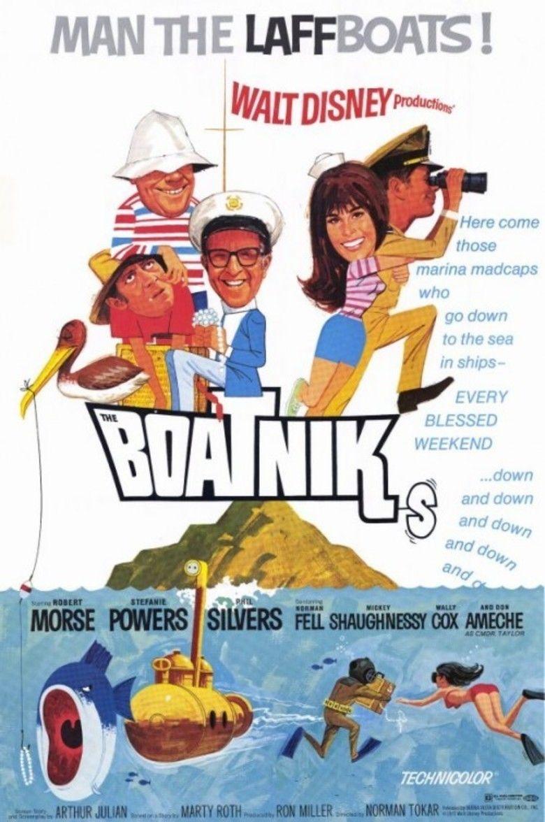 The Boatniks movie poster