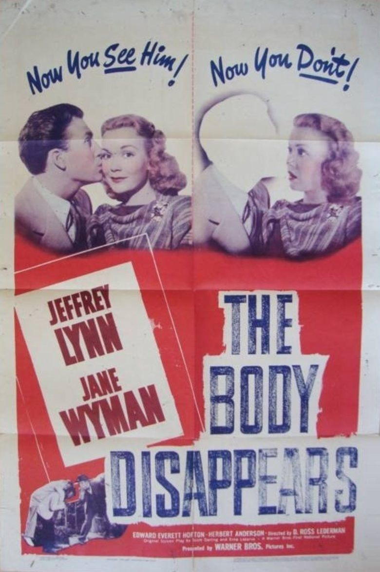The Body Disappears movie poster