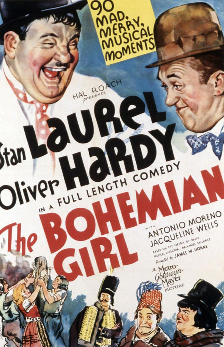 The Bohemian Girl (1936 film) movie poster