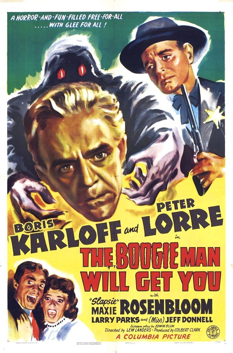 The Boogie Man Will Get You movie poster