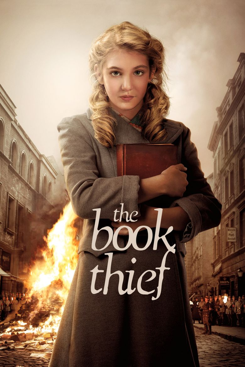The Book Thief (film) movie poster