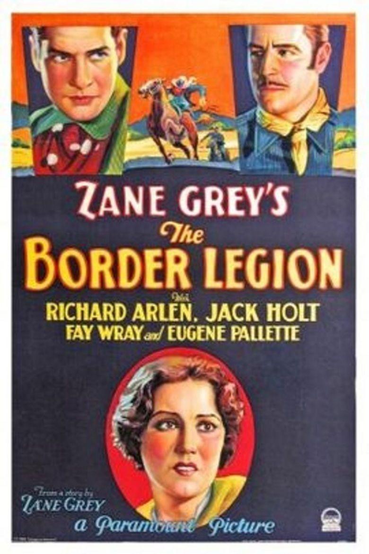 The Border Legion (1930 film) movie poster