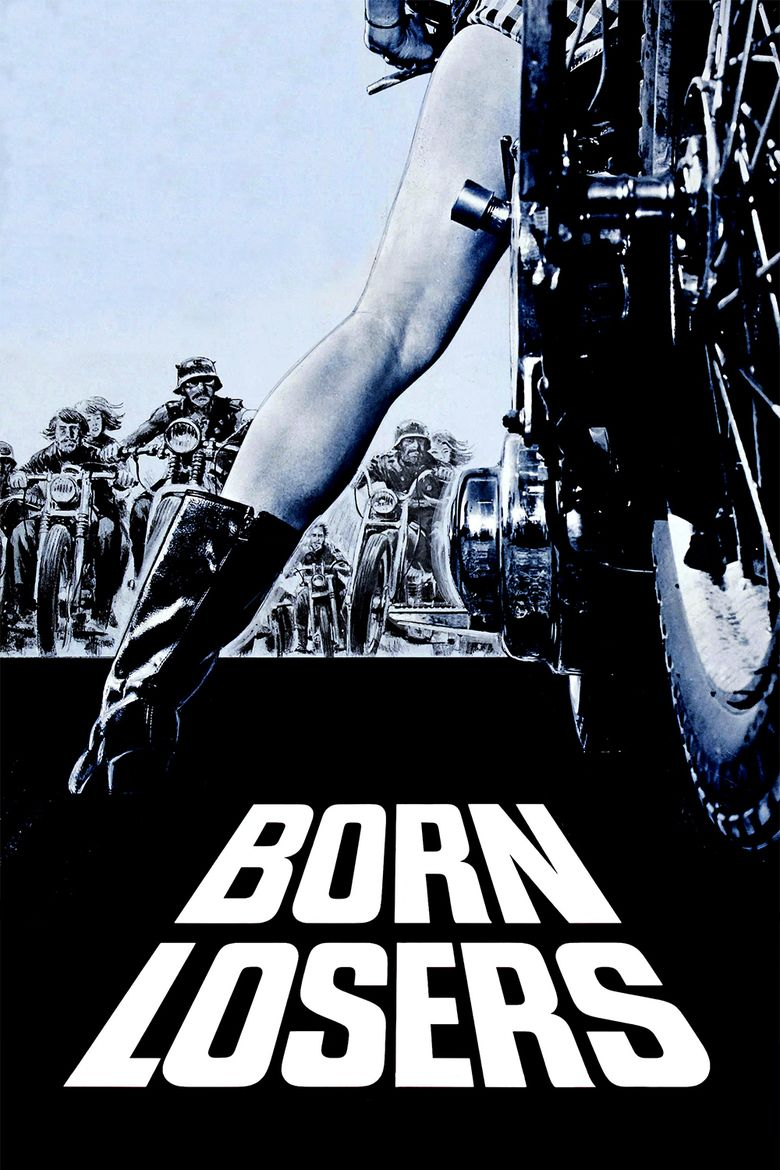 The Born Losers movie poster