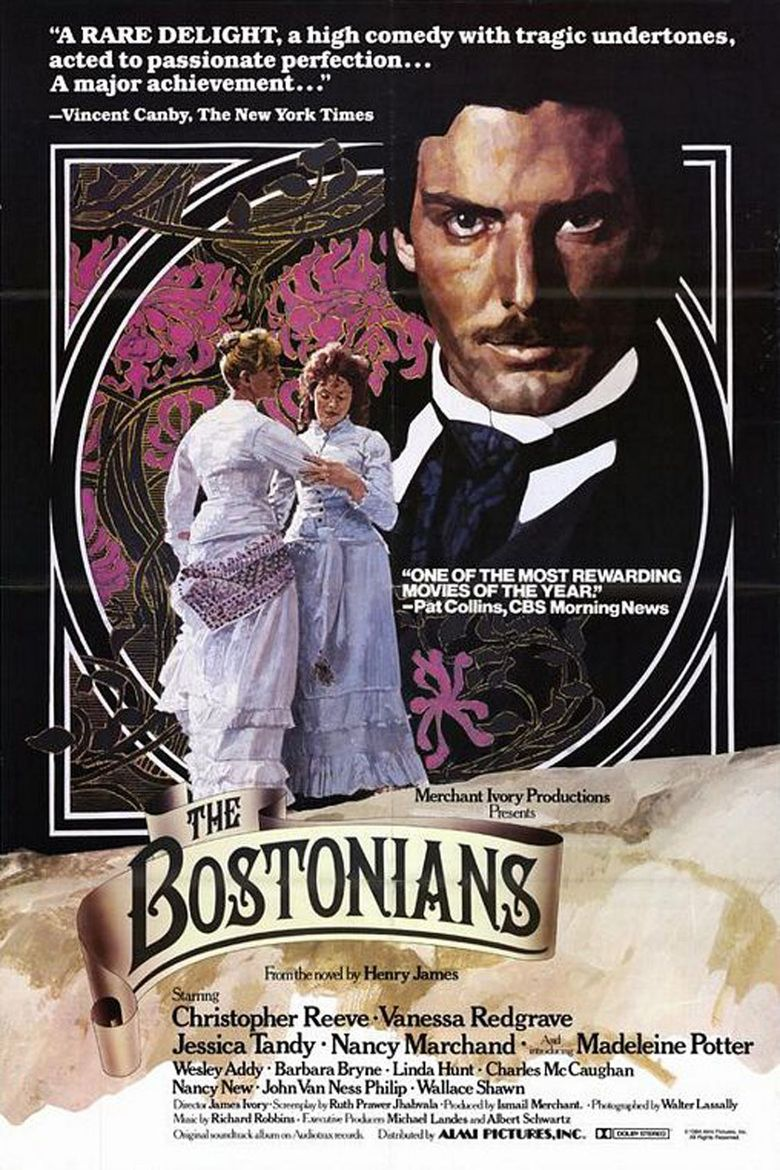 The Bostonians (film) movie poster