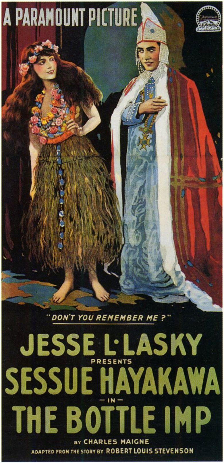 The Bottle Imp (1917 film) movie poster