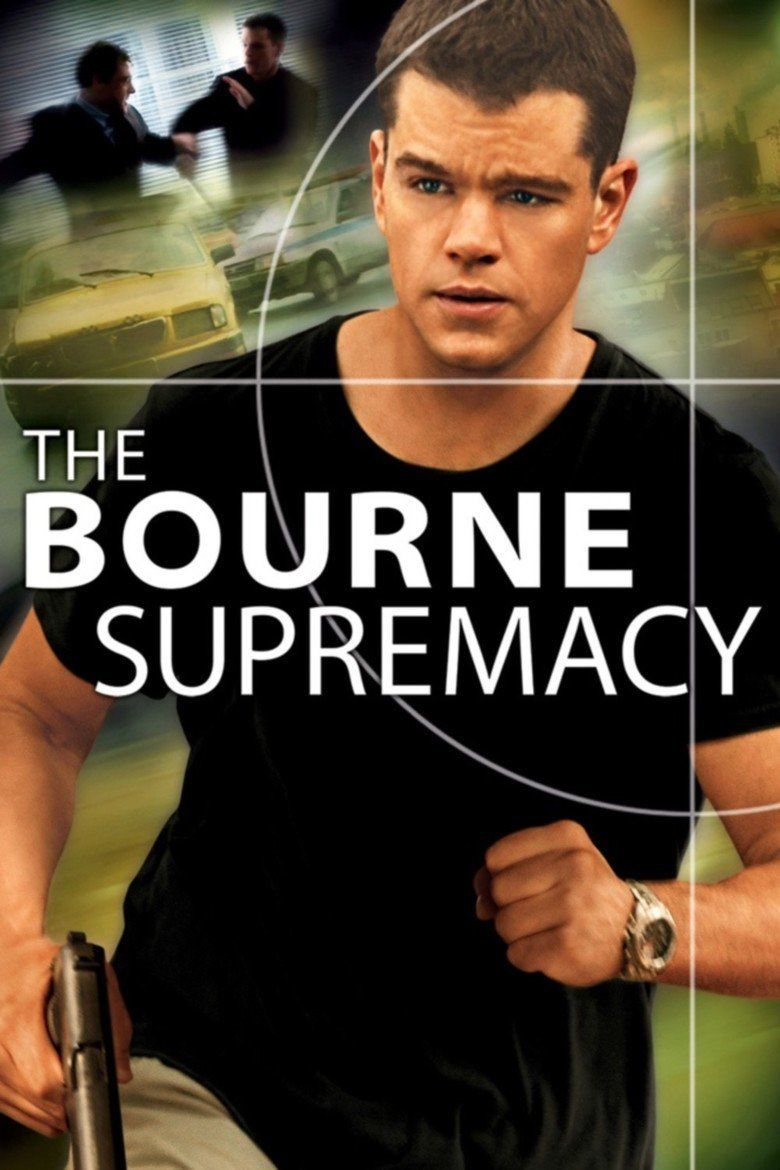 The Bourne Supremacy (film) movie poster