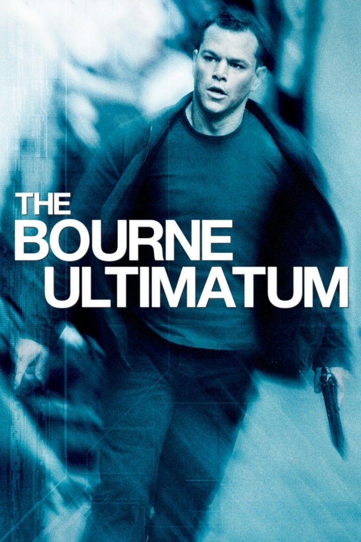 The Bourne Ultimatum (film) movie poster