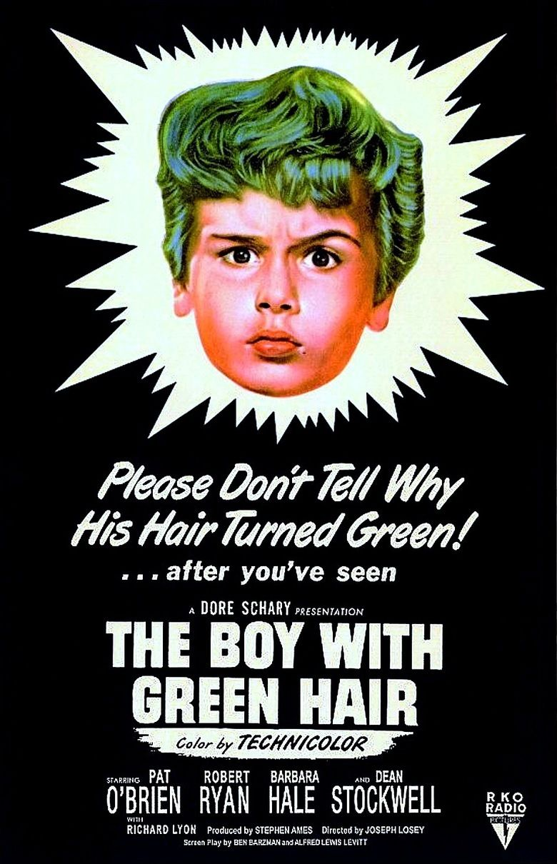 The Boy with Green Hair movie poster