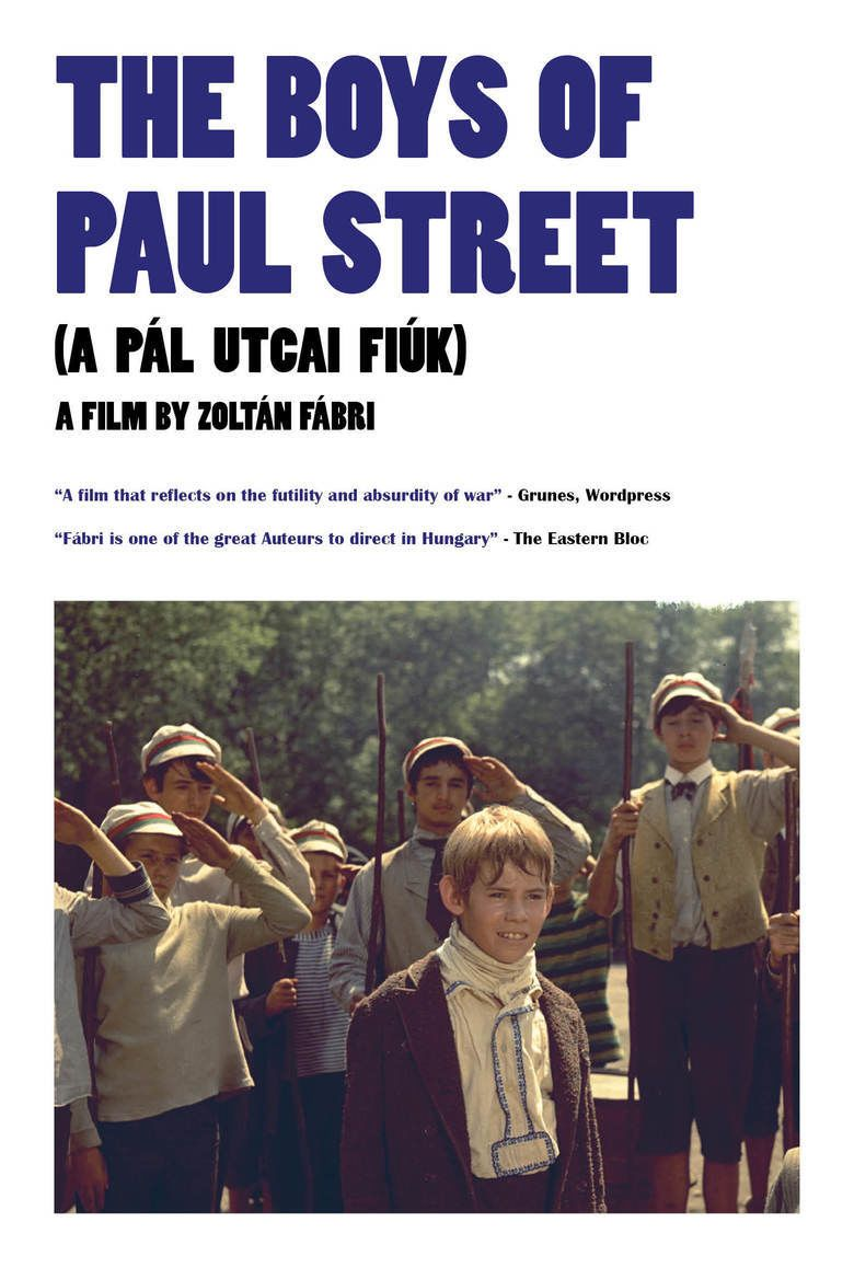 The Boys of Paul Street movie poster