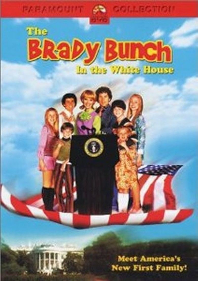The Brady Bunch in the White House movie poster