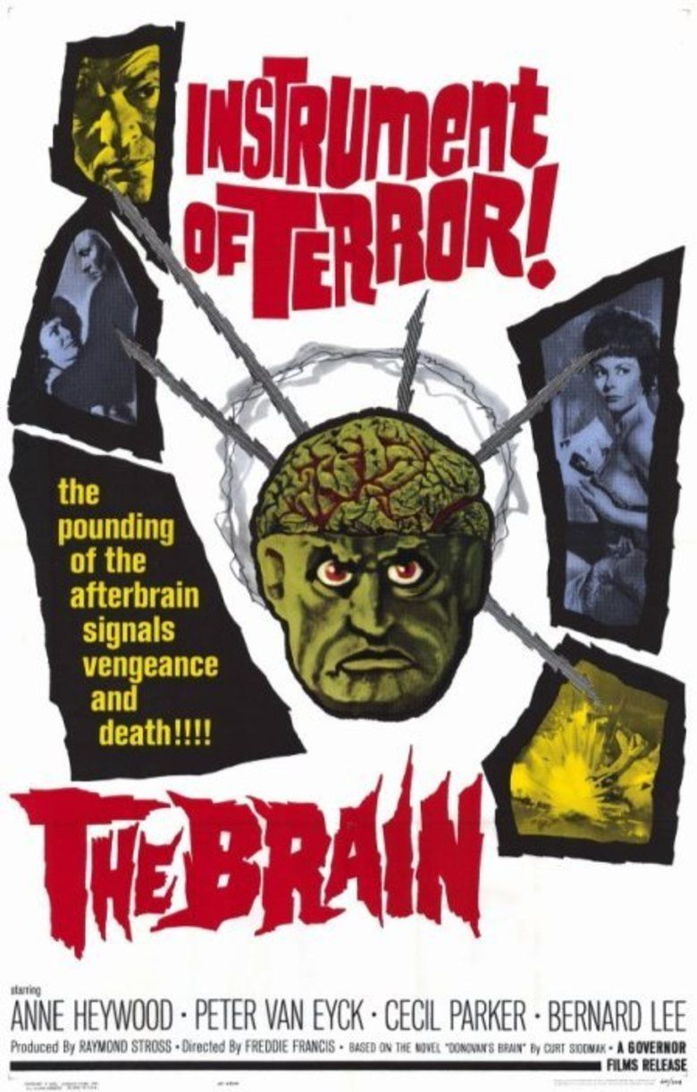 The Brain (1962 film) movie poster