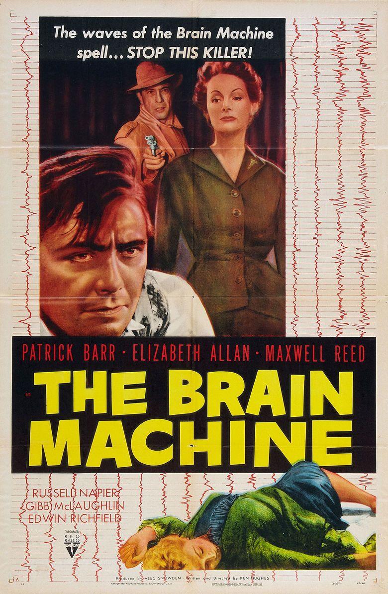 The Brain Machine (film) movie poster