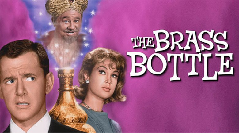 The Brass Bottle (1964 film) movie scenes